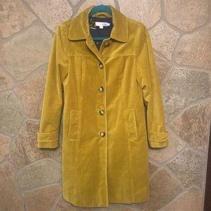 Boden Heritage velvet coat. Size 4